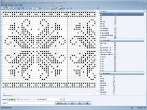 The Complete Guide to Creating Knitting Patterns: Knit Visualizer Screen