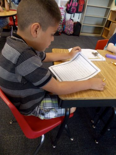 "Most first and second graders show up with a ""writing past"" on the very first day of school. They may have misconceptions about what it means to write, or they may not feel confident in their abilities. On the other hand, they may already love writing and be eager to start a new year! In this post, I explain how I launch my writing workshop in first or second grade - taking into account students"