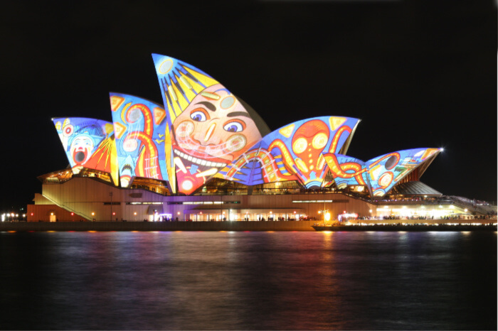 Vivid Sydney is a fiesta of lights and music